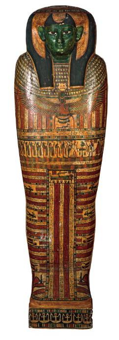 古代エジプトの棺
