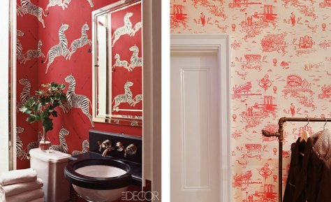 Scalamandre Zebras and Beastie Boys' Mike Diamond's Brooklyn Toile Wallpaper