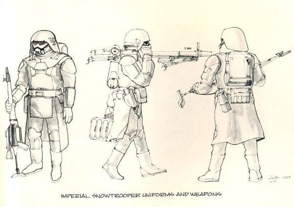Snowtrooper concept 006 Rumors: The Stormtroopers of Star Wars: Episode VII