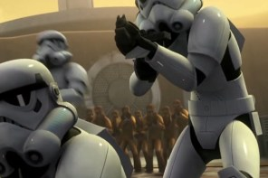 Location Services & the Star Wars: Episode VII Stormtrooper helmets that leaked recently.