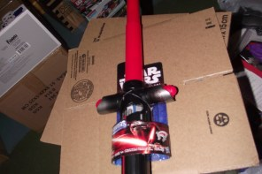 Kylo Ren's Star Wars: The Force Awakens lightsaber toy on eBay!