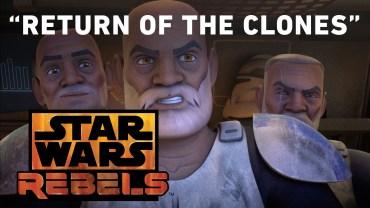 Video Star Wars Rebels: Return of the Clones!