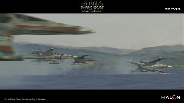 A cool article on the previs process for Star Wars: The Force Awakens