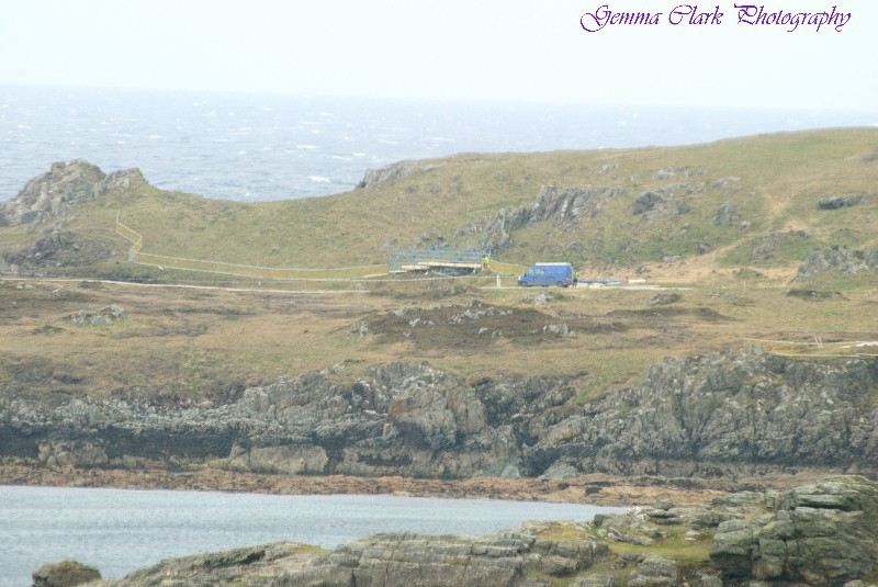 Star Wars: Episode VIII begins setting up at Malin Head. Photos!