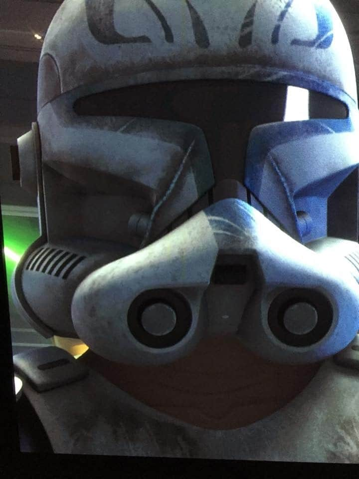 Captain Rex will wear his classic helmet in Star Wars Rebels Season 3!