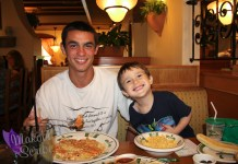 Family At Olive Garden
