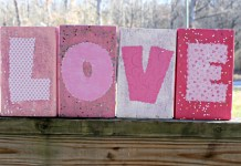 DIY Love Blocks