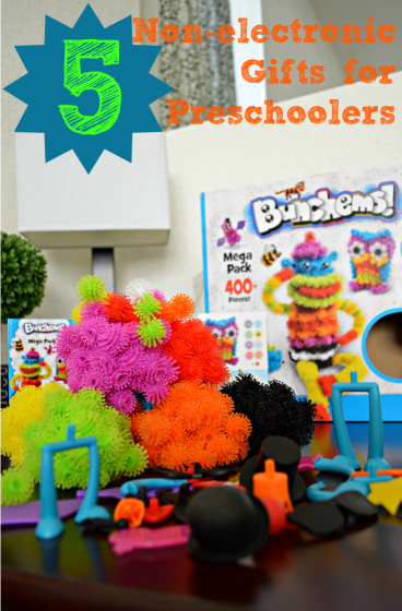5 non-electronic gifts for preschoolers