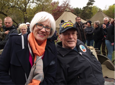 Helen Patton and Dick Williams