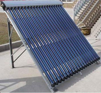 Солнечная отопительная система вакуумного типа.