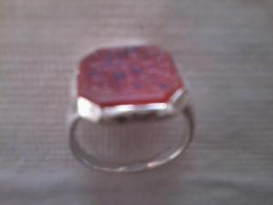 The blessed ring of Shaykh Muhammad Usman Damani