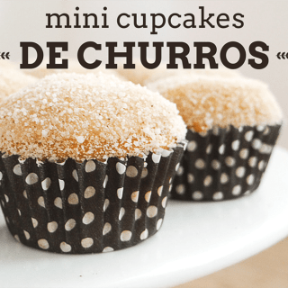churros cupcakes home