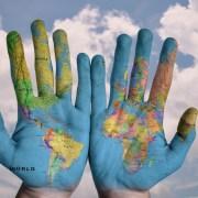 hands-world-map-global-earth-globe-blue-creative