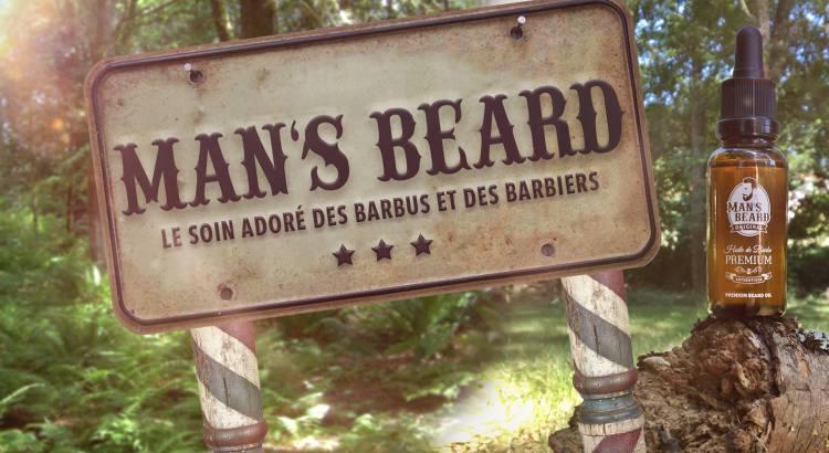 Set barbier Man's Beard
