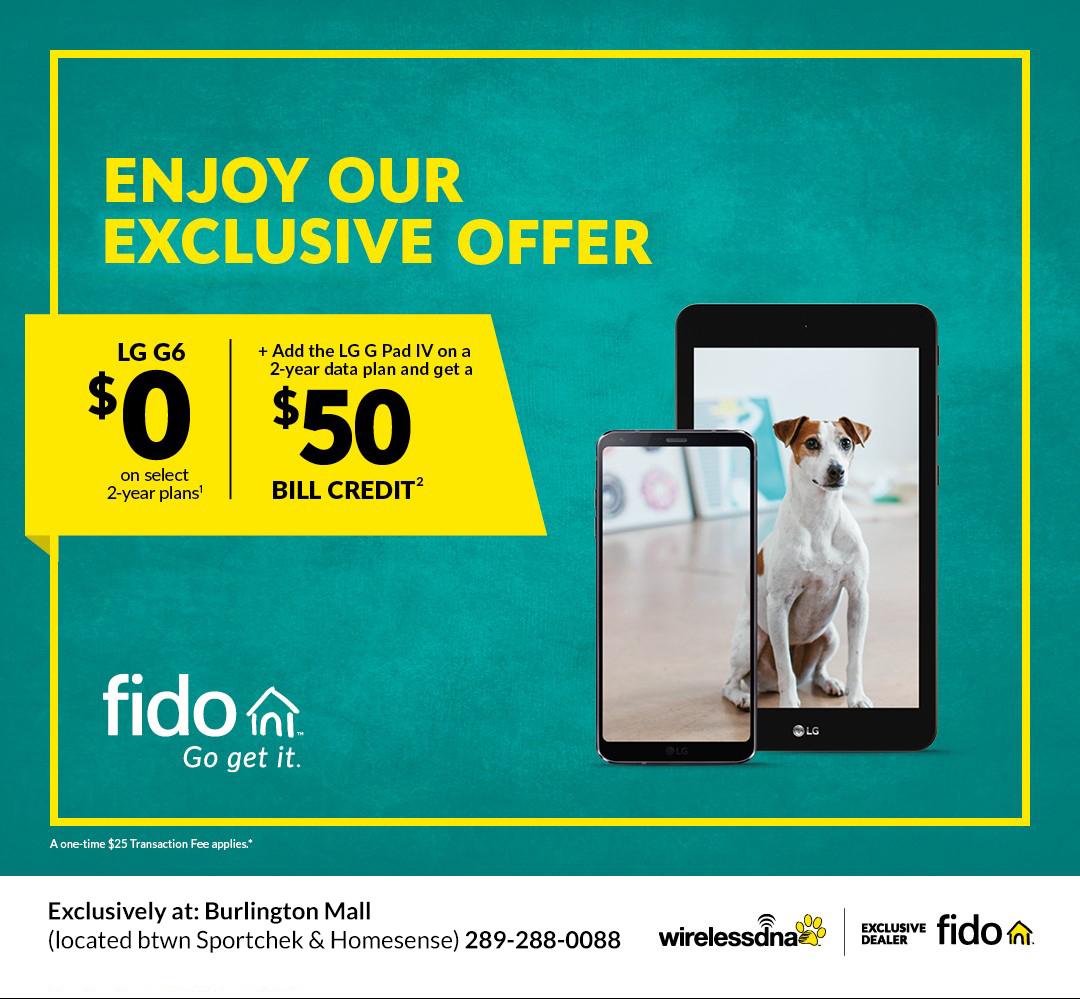 Phantasy Fido Off Select Lg Devices Burlington Mall Off Select Lg Devices Fido Burlington Center Mall Stores Burlington Mall Stores Wa baby Burlington Mall Stores