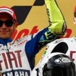 Rossi conquista Jerez por delante de Lorenzo y Márquez