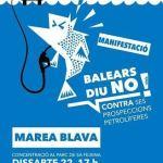 El 22 de febrero manifestación en Palma contra las prospecciones petrolíferas