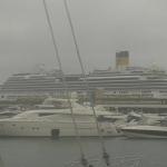Baleares recibió menos cruceristas en el primer trimestre