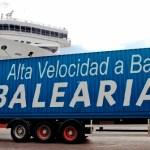 Baleària refuerza los servicios de transporte de carga en Mallorca