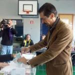 20D. Fernando Navarro (Ciutadans) ha votado en Santa Eugènia