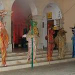 Maria Enganxa y los Dimonis de ses Salines encienden la verbena de Sant Antoni