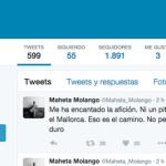 Maheta Molango, un dirigente hiperactivo en Twitter