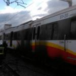 Un incendio en un tren en Binissalem obliga a cortar el servicio durante varias horas