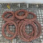 Detenido por robar presuntamente  800 metros de cable de cobre en Felanitx