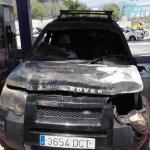 Arde un vehículo en Son Castelló