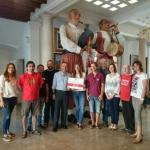 Muro dona 1.000 euros a la ONG dentistas sobre ruedas