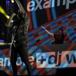 El concierto del británico Example viste de fiesta la noche de Magaluf