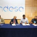 El Govern, Endesa y el GOB firman un convenio para custodiar una finca en la Albufera de Mallorca
