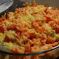 Recept: Visschotel met garnalen en pangasiusfilet