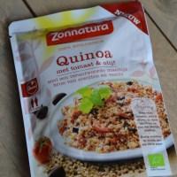 Review: Quinoa met olijf en tomaat van Zonnatura