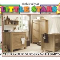 15% discount on nursery furniture & 10% on the hospital list at Little Stars