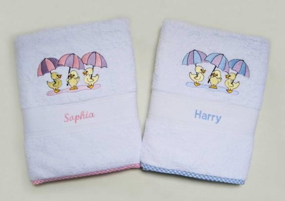 Bespoke Baby Gifts Bath Towel