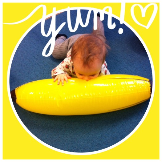 Riesen Banane