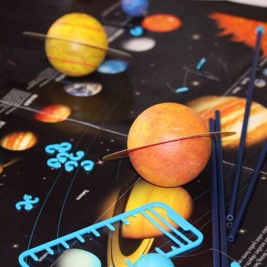 Planeten basteln