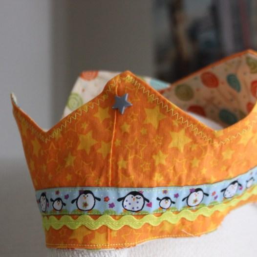 Geburtstagskrone Schnittmuster selbst genäht