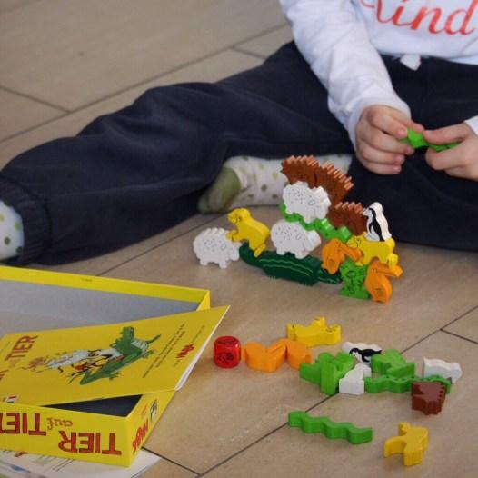 Tier auf Tier haba Spiel Kinderspiel