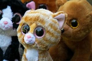 Katze Stofftier