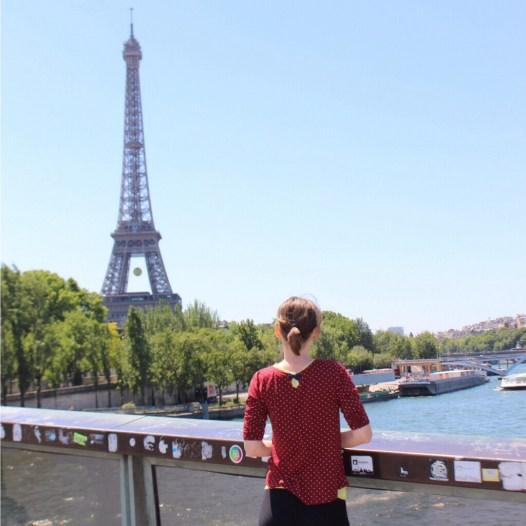 Paris eiffelturm seine