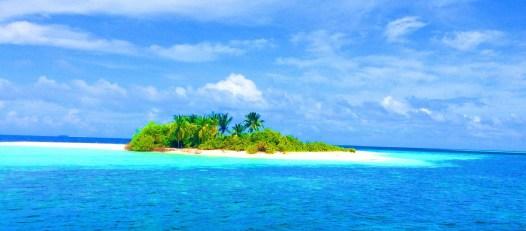 einsame Insel Malediven