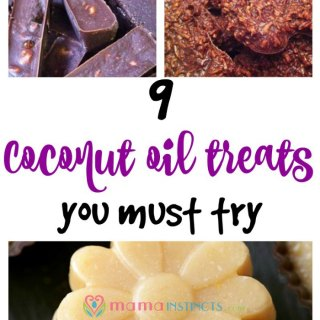 Try these delicious coconut oil treats. They're healthy, tasty and so easy to make that your kids can make them with you.