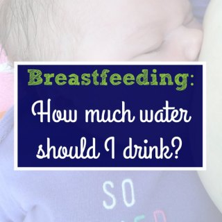Can your milk supply be affected by how much water you drink? Click here to find out much water should you be drinking when you're breastfeeding; or pin it for later.