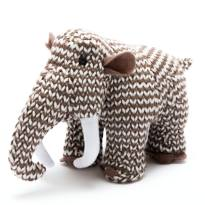 mammoth rattle4 - Maurice the Mammoth Dinosaur crochet toy for baby rattle.