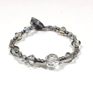 Bella teething fiddle bracelet silver 002 - Bella Nursing Breastfeeding fiddle bracelet silver