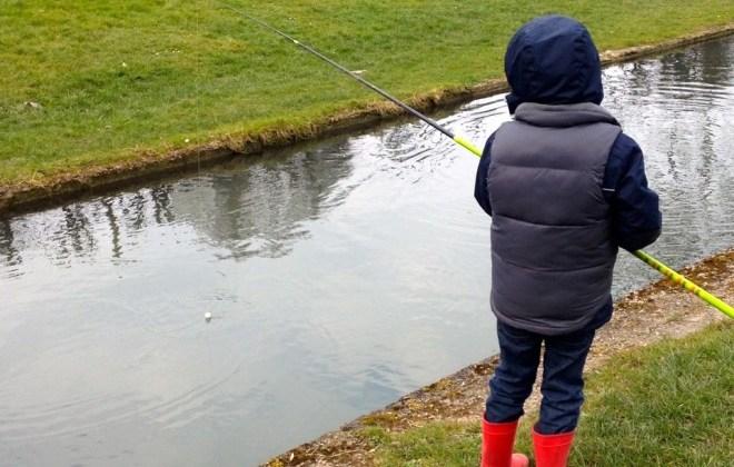 Fishing in Paris
