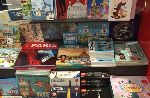 Books about Paris for kids