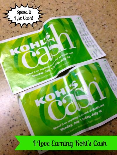 Kohl's Cash - Mama Luvs Books